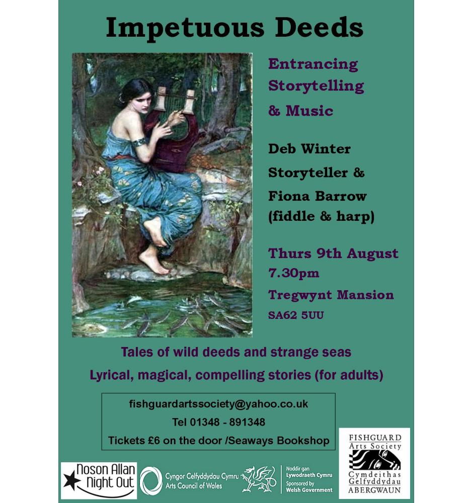Impetuous Deeds Poster